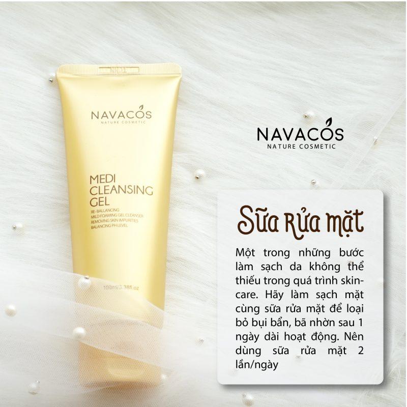Sữa rửa mặt Navacos Hàn Quốc